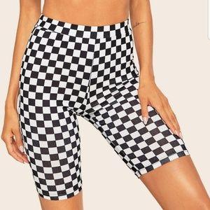 Pants - NEW CHECKERED PRINT S bgg%6 guy juju nHORTS